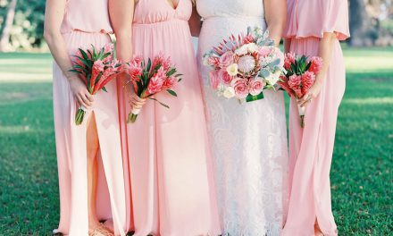 Blush Tropical Maui Wedding at the Olowalu Plantation House
