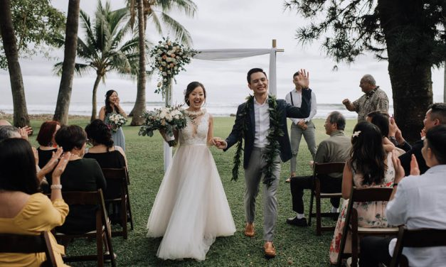 Olowalu Plantation House Maui Wedding BC – Before Covid