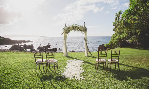 Dreamy Micro Wedding at the Kukahiko Estate Maui