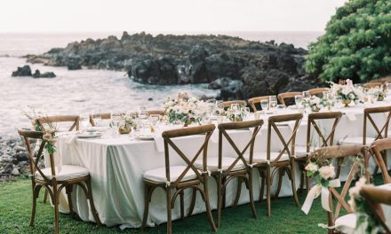 Wedding Reception Table Options: Round, Rectangle or Both