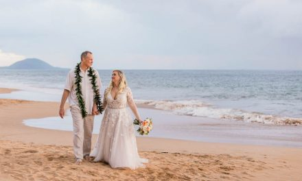 Secluded Beach Elopement in Maui