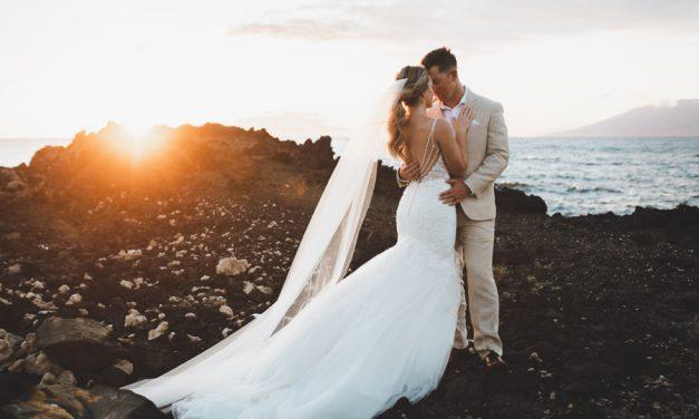 Romantic Maui Wedding at the Kukahiko Estate