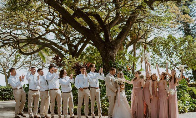 Romantic Maui Wedding at the Olowalu Plantation House