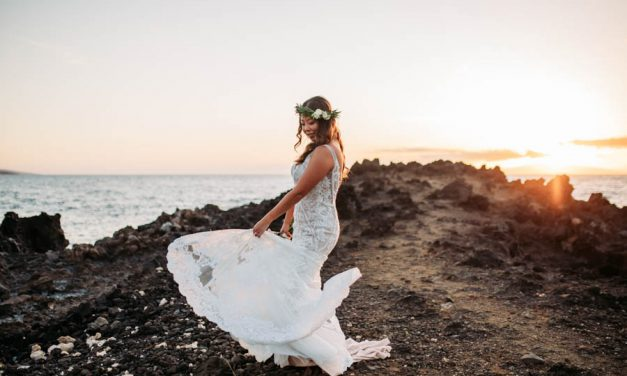 Oceanfront Wedding in Maui at the Kukahiko Estate